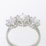 platinum 3-stone gallery prongs featured